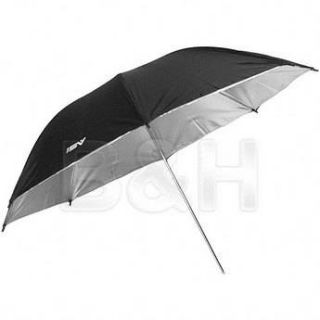 "Smith Victor 45BS 45"" Black/Silver Umbrella 670140"