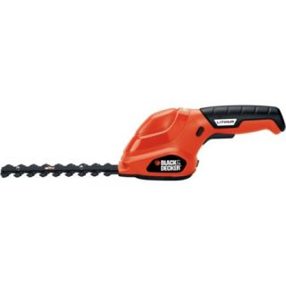 """Black and Decker 6"""" Cordless Electric Shear Shrubber"""