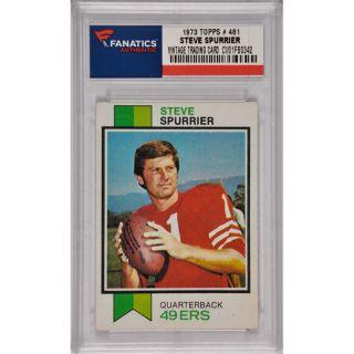 Steve Spurrier San Francisco 49ers 1973 Topps #481 Card