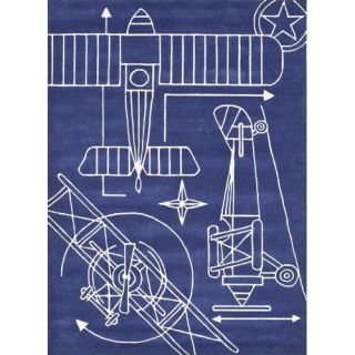 Momeni Lil Mo Hipster Navy Area Rug