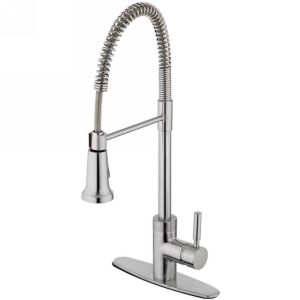 Estora 15 51121 SS Forza Stainless Steel  Pullout Spray Kitchen Faucets