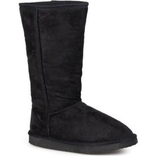 Brinley Co Ladies 12 Inch Faux Suede Boot
