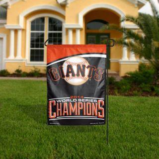 San Francisco Giants WinCraft 2014 World Series Champions Garden Flag