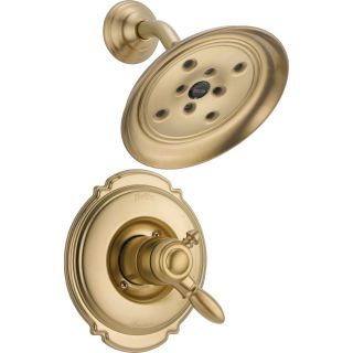 Delta Faucet T17255 CZH2O Victorian Champagne Bronze  One Handle Shower Only Faucets