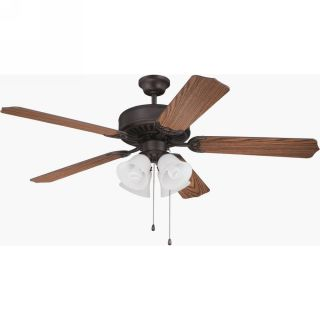 Craftmade CRA C203ABZ Pro Builder 203 Aged Bronze Brushed  Ceiling Fans Lighting