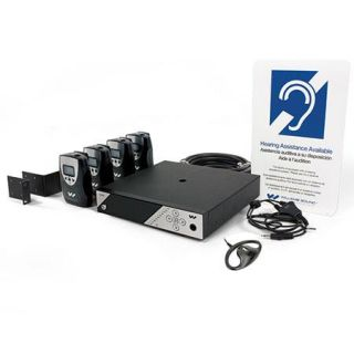 Williams Sound PPA 458 PRO Listening System with Coaxial Antenna, Rack Panel Kit PPA 458 PRO