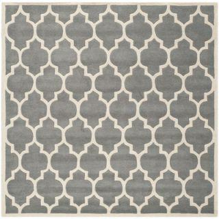 Safavieh Chatham Dark Grey & Ivory Moroccan Area Rug