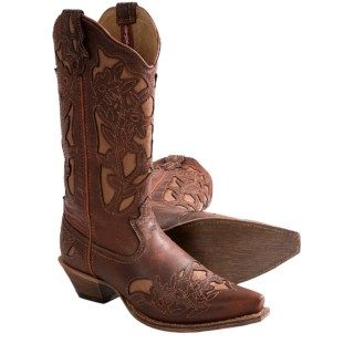 Twisted X Boots Steppin' Out Cowboy Boots (For Women) 6527V 32