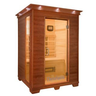 TheraSauna 78 in H x 57 in W x 52 in D Indoor Sauna