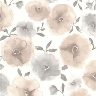 Superfresco Easy Brown Paper Floral Wallpaper