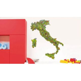 80 Piece Italy and Its Regions Wall Decal by Smart Deco