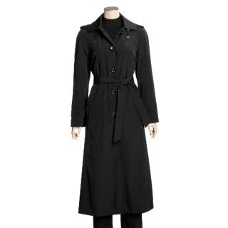London Fog Hooded Trench Coat (For Women) 2964D 36