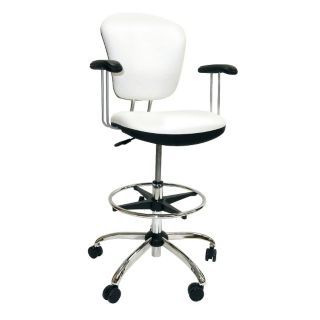 SHOPSOL Task Chair with 300 lb. Weight Capacity, White   45TX12|1010296   Grainger