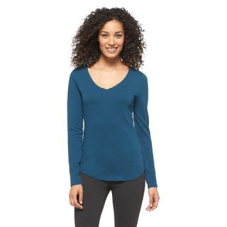 Womens Long Sleeve V Neck Layering Tee   Merona®
