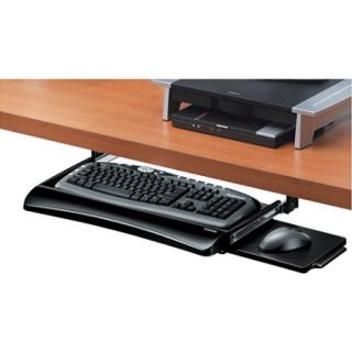 Fellowes Office Suites Underdesk Keyboard Drawer, 20 1/8w x 7 3/4d, Black