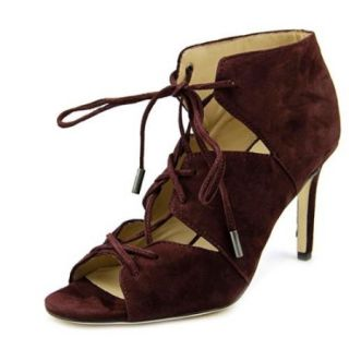 Via Spiga Vibe Open Toe Leather Ankle Boot