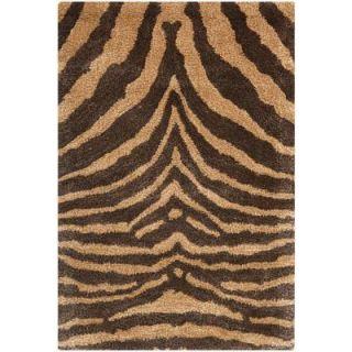 Safavieh Soho Brown/Gold 3 ft. 6 in. x 5 ft. 6 in. Area Rug SOH434C 4
