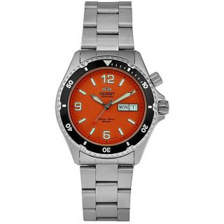 Orient Mens Stainless Steel Automatic Diver Watch   12416413