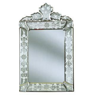 Mini Cecille Venetian Arch Wall Mirror   11W x 18H in.   Mirrors