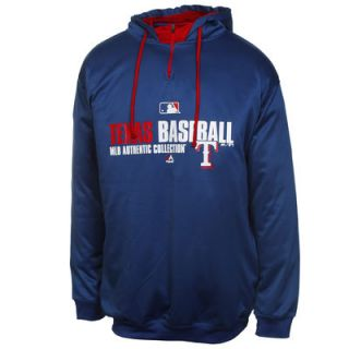 Texas Rangers Big & Tall Authentic Collection Team Favorite Hoodie   Royal