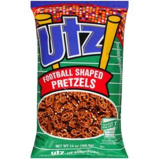 UTZ Football Shaped Pretzels, 14 oz