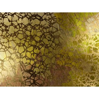 Abstract Golden Nest by Jordan Carlyle Graphic Art by Carlyle Fine Art