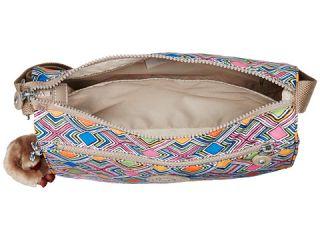 Kipling Callie Printed Handbag Geometric Ember