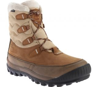 Womens Timberland Woodhaven Mid Waterproof Insulated Boot   Brown Full Grain Leather
