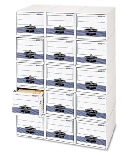 Fellowes Bankers Box Stackable Super Stor / Drawer Steel Plus Filing Storage   Moderate Use   File Cabinets