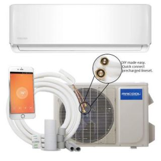 MRCOOL DIY 18,000 BTU 1.5 Ton Ductless Mini Split Air Conditioner and Heat Pump   230V/60Hz DIY 18 HP 230A