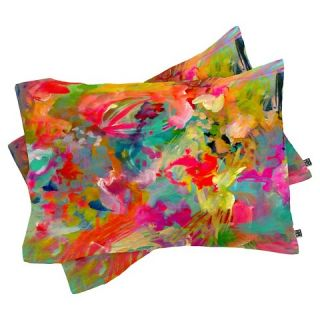 DENY Designs Stephanie Corfee Thats Hot Lightweight Pillowcase   Red