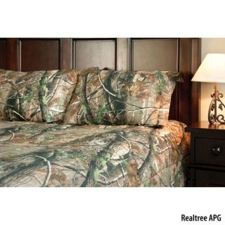 Birchwood Trading Realtree APG Camo Full Comforter Set