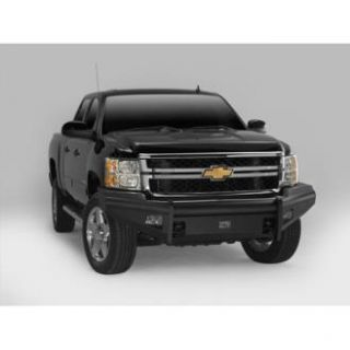 Fab Fours   Fab Fours Front Elite with Tow Hooks Bumper (Bare Steel) CH08 Q2061 B   Fits 2007.5 to 2010 Chevy 2500HD   3500HD