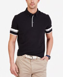 Nautica Mens Striped Sleeve Polo Shirt   Polos   Men
