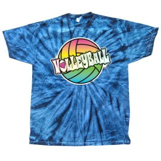 Volleyball T Shirt Rainbow Volleyball