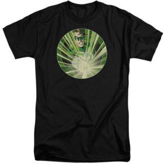 Green Lantern Light Em Up Mens Big and Tall Shirt