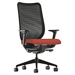 HON Nucleus Series Ilira Stretch M4 High Back Chair HarvestBlack